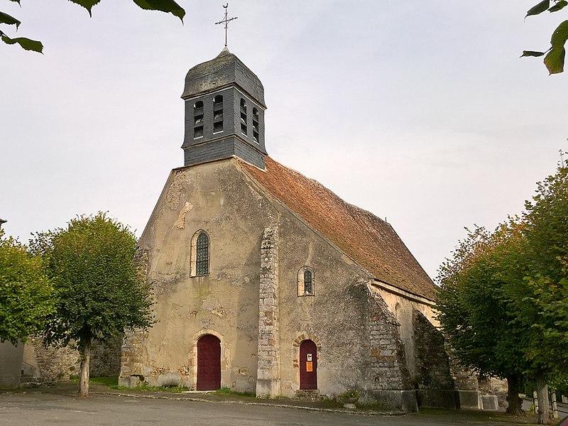 Blennes, église Saint-Victor