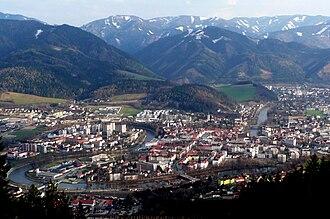 Leoben - View on Leoben in 2009.