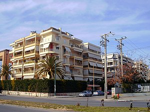 Blocks of flats in Moschato, Greece - panoramio.jpg
