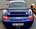Blue 997 GT3RS 3point8 with license plate EB 526 DX somewhere in Italy.jpg