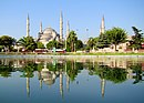 Blue Mosque Istanbul Mirrored.JPG