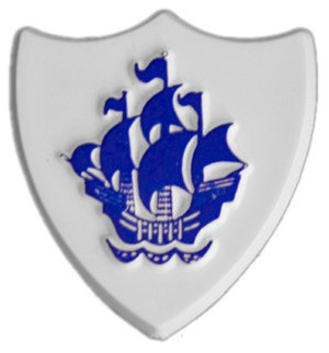 "Blue Peter badge - The design of the original ""Blue"" badge"