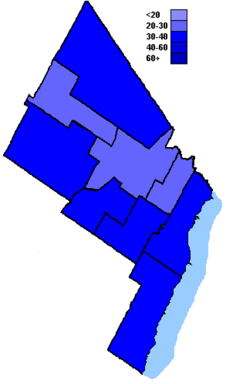 Canadian federal election results in Brampton, Mississauga and Oakville - Conservative Party of Canada