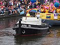 Boat 75 Luchthaven Schiphol, Canal Parade Amsterdam 2017 foto 7, sleepboot Arie.JPG