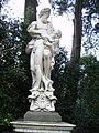 Boboli, primo incrocio del viottolone, giovanni caccini, Esculapio con Ippolito morente-Boboli Gardens.jpg