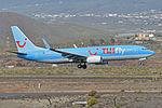Boeing 737-8K5(w) 'SE-RFU' TUIfly Nordic (24742984662).jpg