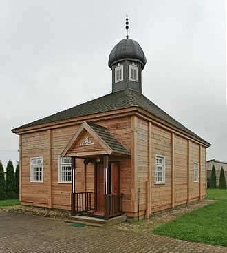 Lipka Tatars - Mosque in Bohoniki.