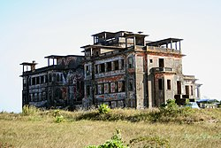Bokor Palace Hotel in 2007