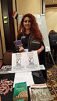 BookSwapping at Wikimania 2018 20180722 151806 (6).jpg