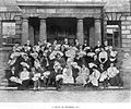 Book of the Rotunda Hospital; midwifery students with babies. Wellcome L0014487.jpg