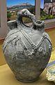 Botija de ceràmica reduïda amb decoracions plàstiques, museu Soler Blasco, Xàbia.JPG