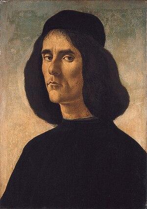 Michael Tarchaniota Marullus - Image: Botticelli Michael Tarchaniota Marullus
