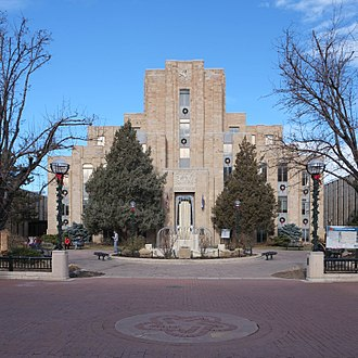 Boulder County, Colorado - Image: Boulder County Courthouse (31861249120)