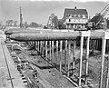 Bouw Caisson voor Coentunnel in Amsterdam-Noord Bouw IJtunnel De uitgangen voo, Bestanddeelnr 915-0227.jpg