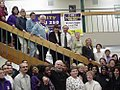 Boxer Travels to SEIU Local 250 Headquarters January 9, 2001 02.jpg