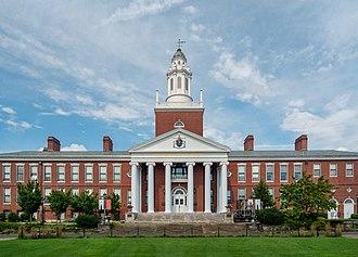 Bridgewater, Massachusetts - Boyden Hall, on the Bridgewater State University campus