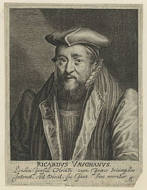 Richard Vaughan (bishop) - De Passe engraving, 1620