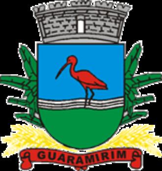 Guaramirim - Image: Brasao guaramirim