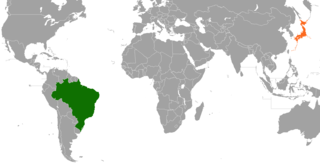 Diplomatic relations between the Federative Republic of Brazil and Japan