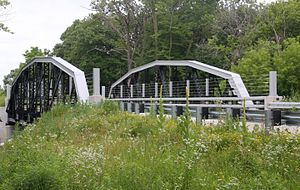National Register of Historic Places listings in Mower County, Minnesota - Image: Bridge 5388