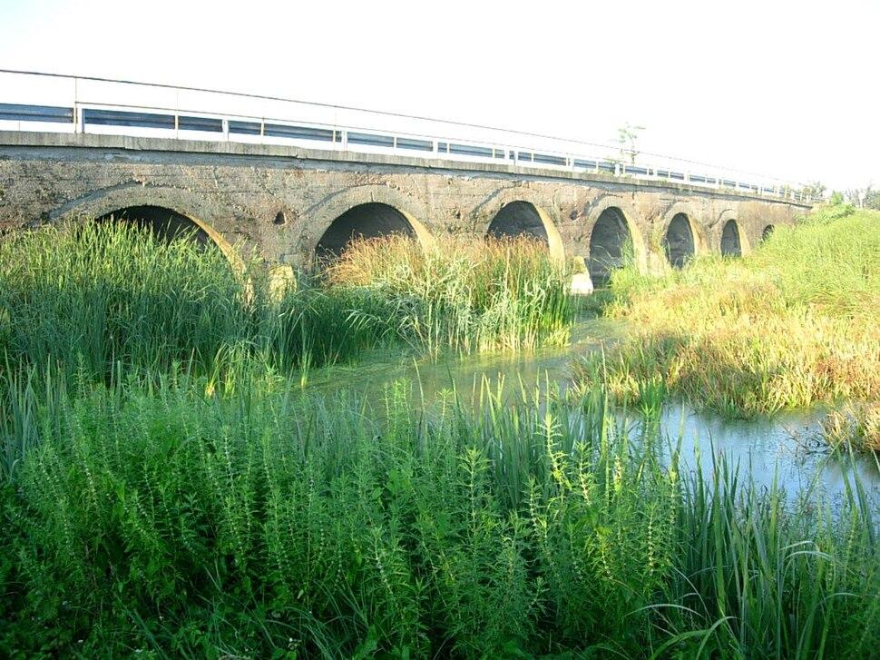 Bridge across Zlatica River near Crna Bara