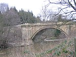 Denwick Bridge over River Aln