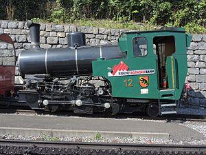 Brienz Rothorn Railway - Image: Brienz Rothorn Bahn (BRB) Brienz BRB Talstation 2016 08 11 16 01 56