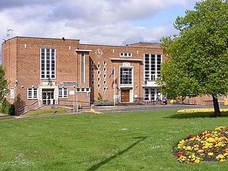 Brierley Hill Urban District - Former Brierley Hill Civic Centre