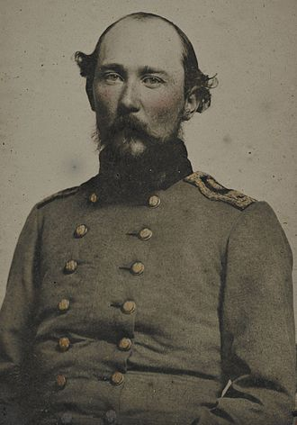 Orphan Brigade - Brig. Gen. Benjamin H. Helm was mortally wounded while leading the Kentucky Brigade at Chickamauga