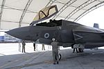British Armed Forces attached to Marine Fighter Attack Training Squadron 501 recieve a new F-35B Lightning II 160715-M-RZ485-041.jpg