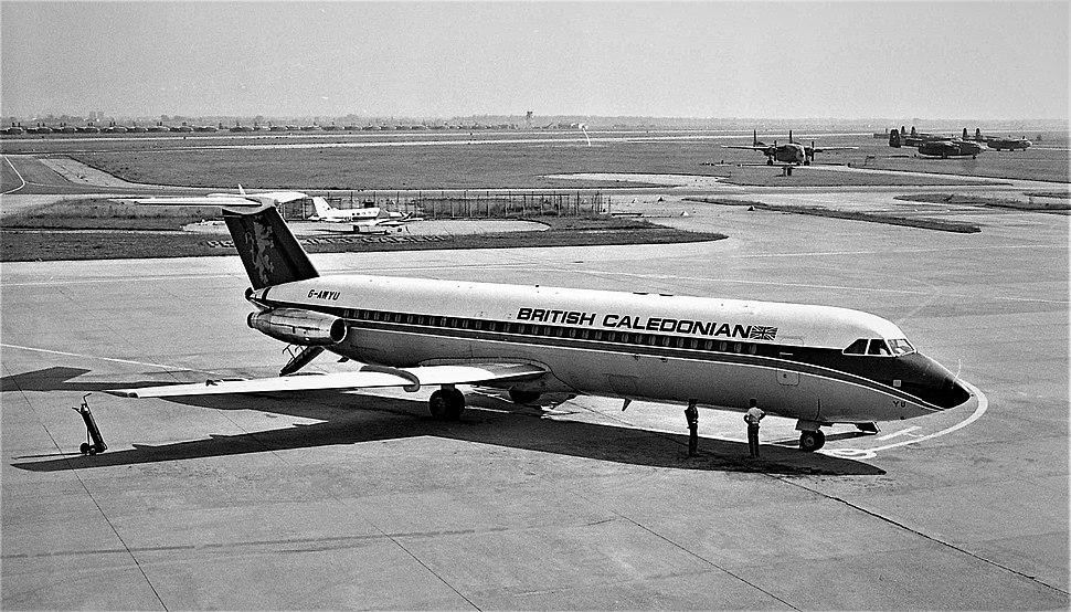 British Caledonian BAC 1-11 G-AWYU 3N