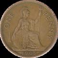 British pre-decimal penny 1963 reverse.png