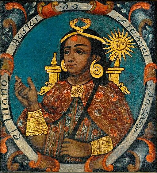 Brooklyn Museum - Atahualpa, Fourteenth Inca, 1 of 14 Portraits of Inca Kings - overall
