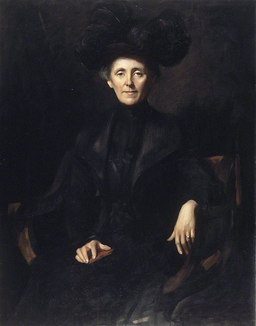 Brooklyn Museum - Lady in Black - Emil Fuchs - overall