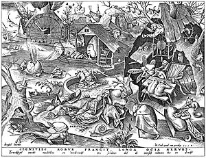 Acedia - Acedia depicted by Pieter Bruegel the elder.