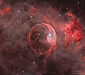 NGC 7635 - Image: Bubble Nebula NGC7635 Goran Nilsson & The Liverpool Telescope