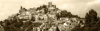 Buccino - Image: Buccino il castello