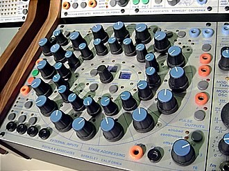 Buchla Electronic Musical Instruments - Buchla 250e Arbitrary Function Generator