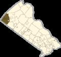 Bucks county - Milford Township.png