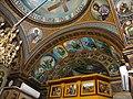 Bucuresti, Romania, Str. Constantin F. Robescu nr. 18, Piata Corneliu Coposu, sect. 3 (Biserica Sfantul Mina - Vergu) (plafon 3).JPG