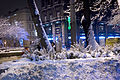 Budapest, Franciscan Square, winter evening II.jpg