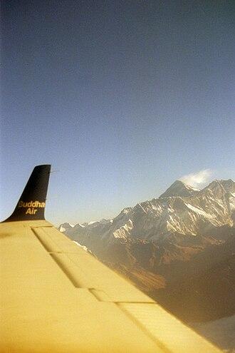 Buddha Air - Buddha Air also operates flights for the mountain sightseeing.