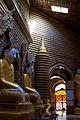 Buddhas line every surface inside Thanboddhay Paya (5090081239).jpg