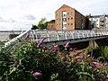 Buddleia bush and Pier Walkway - geograph.org.uk - 948221.jpg