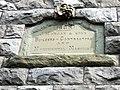 Builders' inscription on Rock Cottage - geograph.org.uk - 1446710.jpg