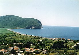 Buljarica, a coastal village in the municipality of Budva, Montenegro.jpg