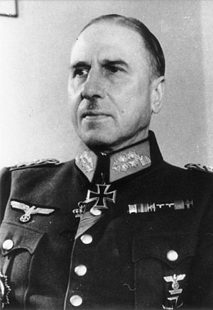 General of the Cavalry (Germany) - Erick-Oskar Hansen, General of the Cavalry during World War II