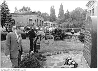 Weißensee cemetery - September 1988