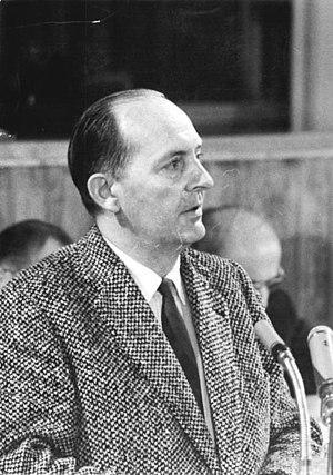 Grünheide (Mark) - Robert Havemann Berlin Volkskammer in 1960