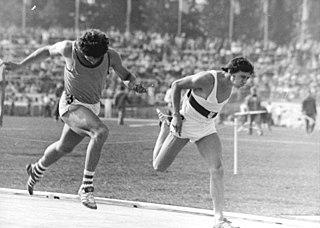 Detlef Kübeck German sprinter